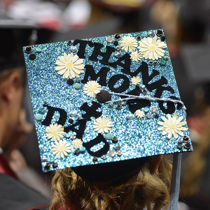 Decorated Grad Cap